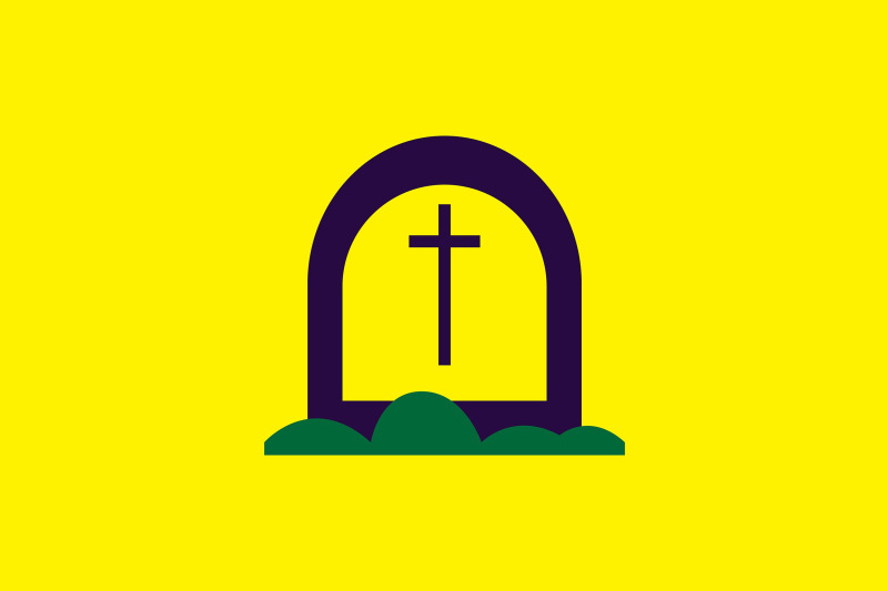 halloween-icon-with-yellow-thombstone