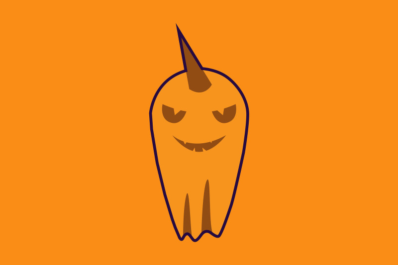 halloween-icon-with-yellow-ghost