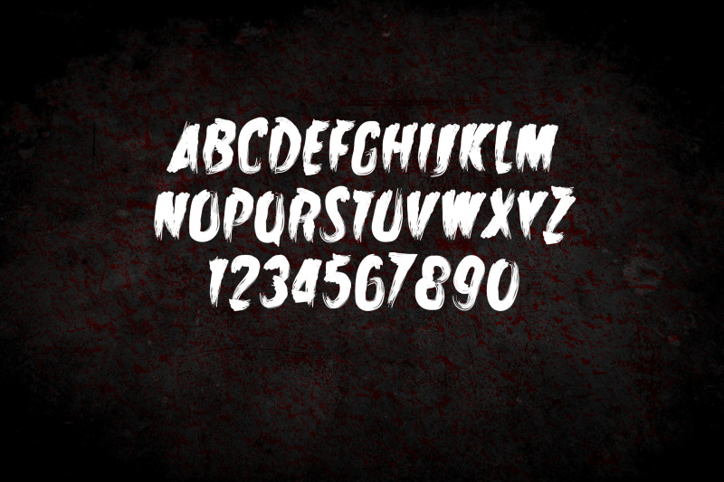 zombie-attack-halloween-font