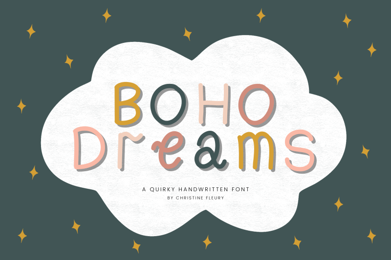 boho-dreams-a-quirky-handwritten-font