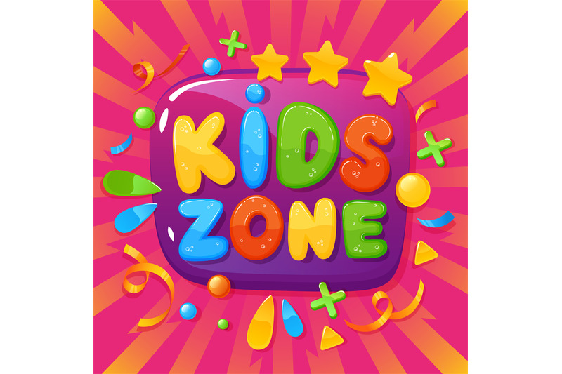 kids-zone-banner-children-playroom-poster-childish-party-fun-games