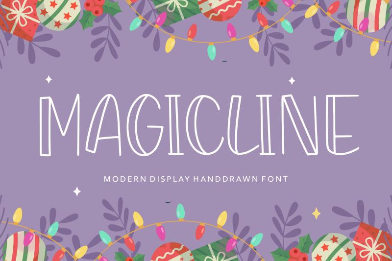 magicline-modern-display-handdrawn-font