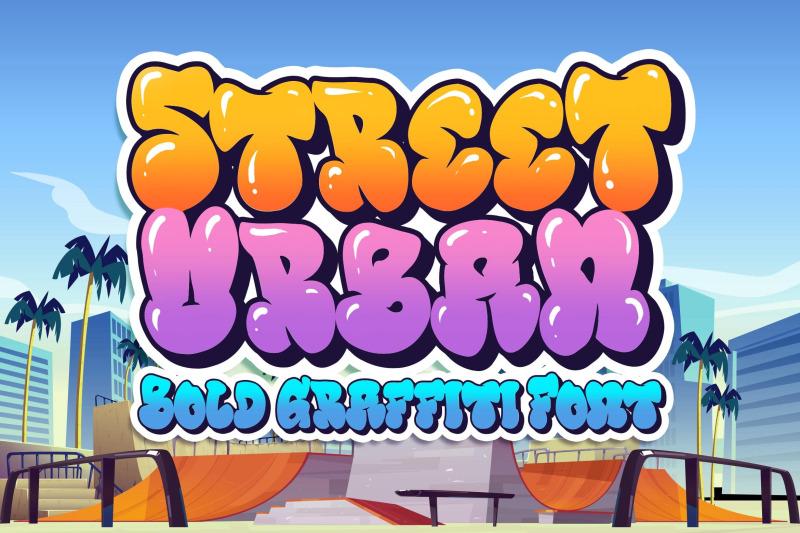 street-urban-graffiti-font