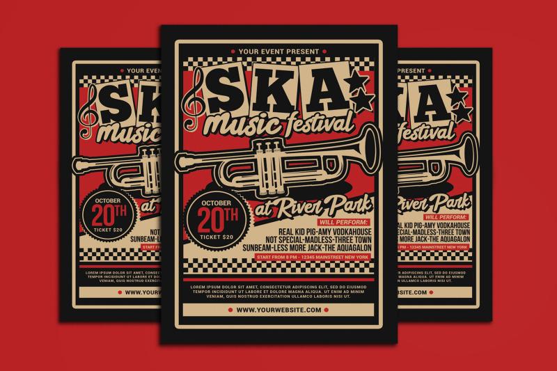 ska-music-concert-flyer