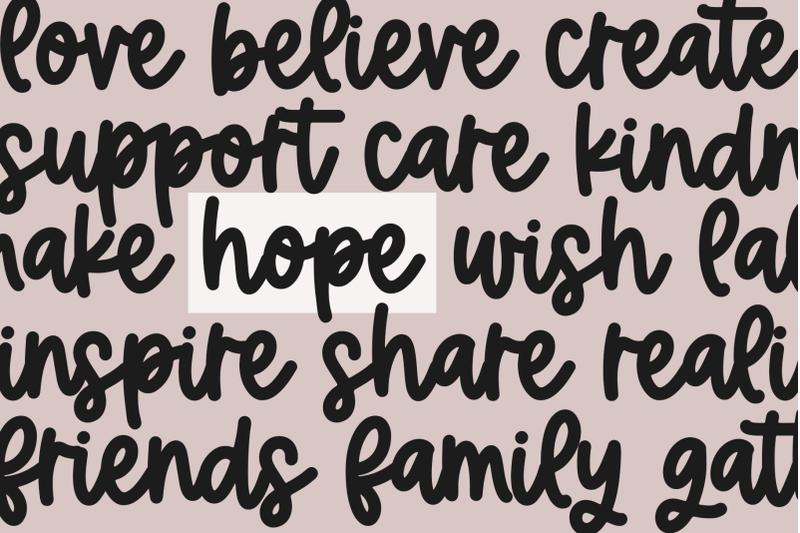 hopeful-handwritten-script-font