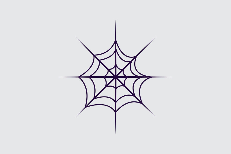 halloween-icon-with-circle-spider-web