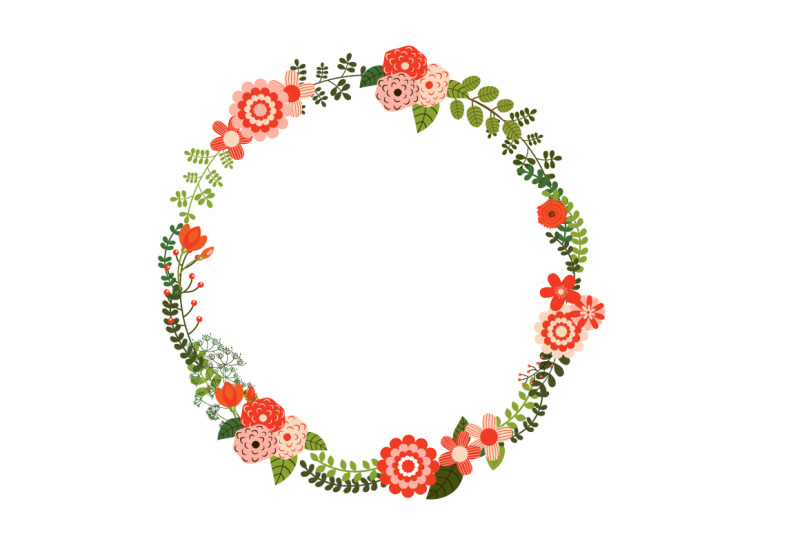 red-rustic-floral-christmas-wreaths
