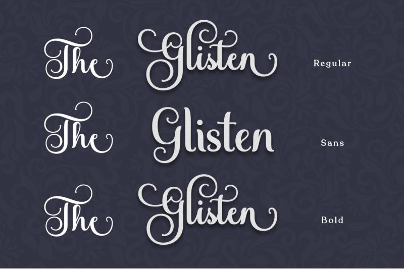 the-glisten-script