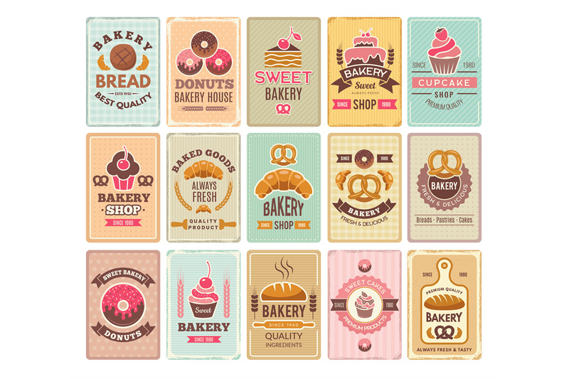 vintage-bakery-cards-delicious-pastries-cafe-shop-and-cakes-vector-la