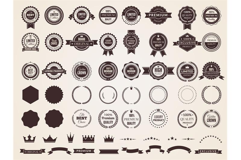 vintage-badges-emblem-premium-luxury-logo-in-retro-style-arrows-frame
