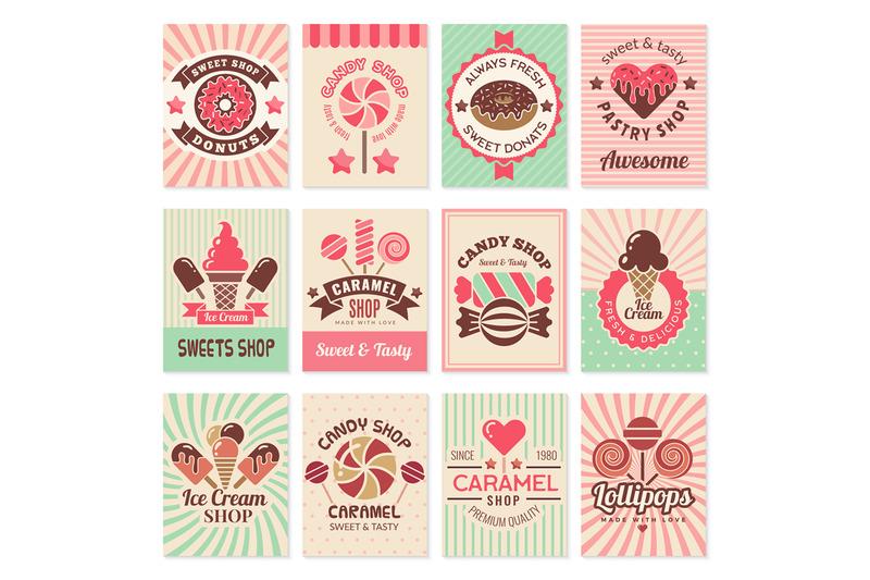 candy-shop-cards-sweet-food-desserts-confectionary-symbols-for-restau
