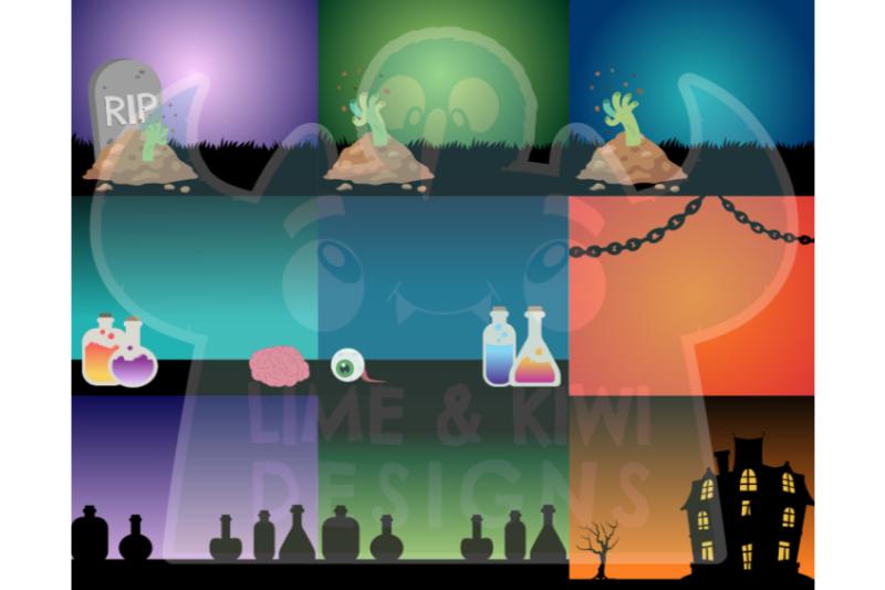 ultimate-halloween-background-bundle-lime-and-kiwi-designs