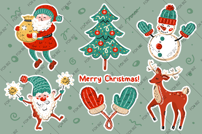christmas-clip-art-new-year-illustrations