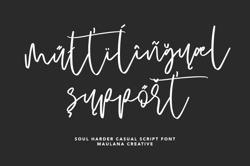 soul-harder-casual-script-font