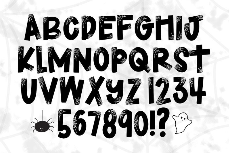 haunted-a-halloween-font