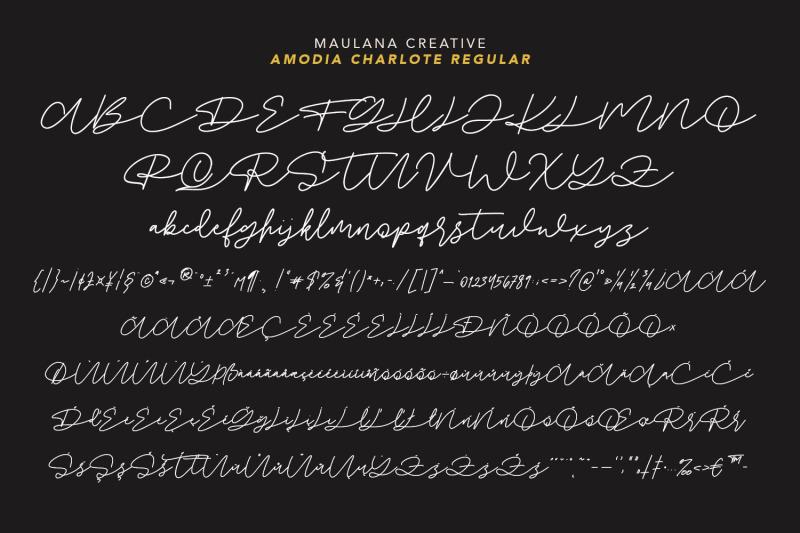 amodia-charlote-signature-font