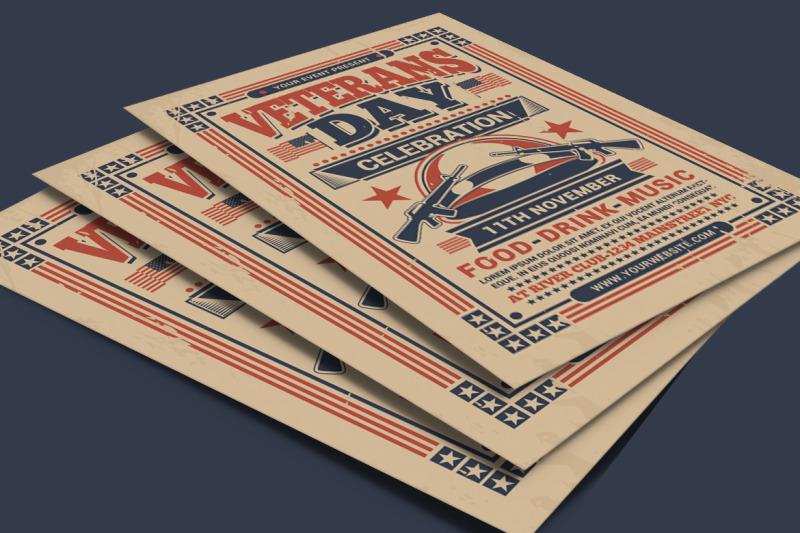 veterans-day-flyer-template