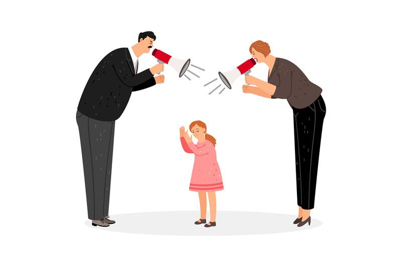agressive-parents-scream-at-daughter