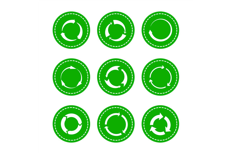 green-recycling-round-arrows