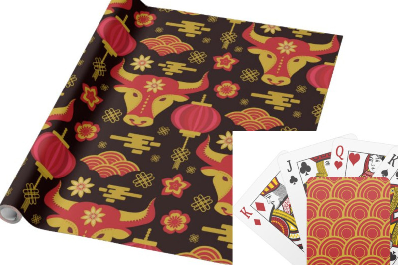 chinese-new-year-2021-pattern-collection
