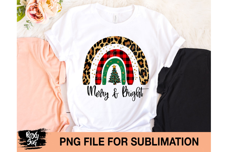 merry-and-bright-sublimation-design