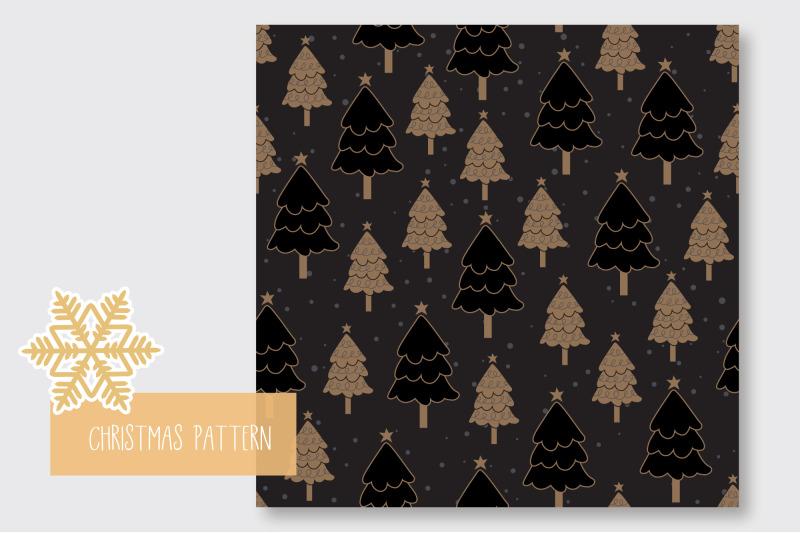 christmas-tree-seamless-pattern