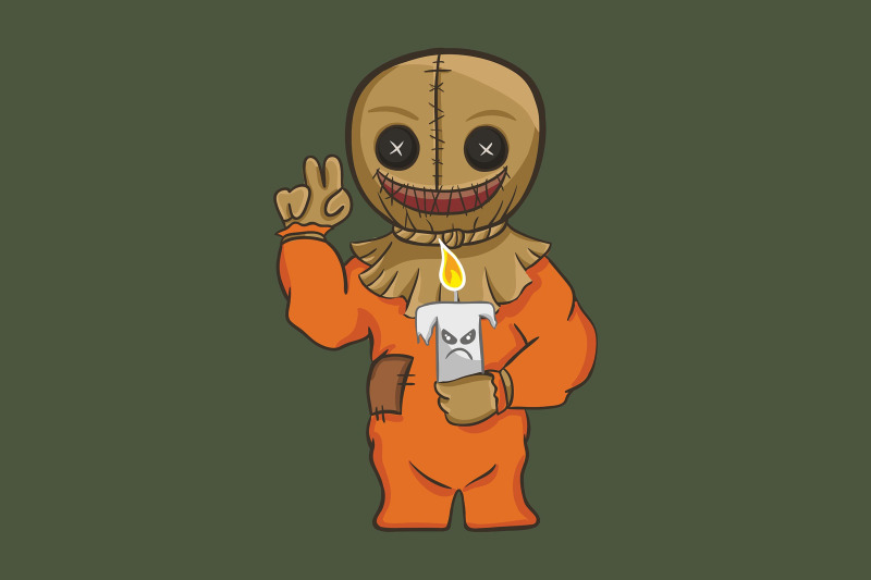 halloween-with-voodoo-doll-and-candle