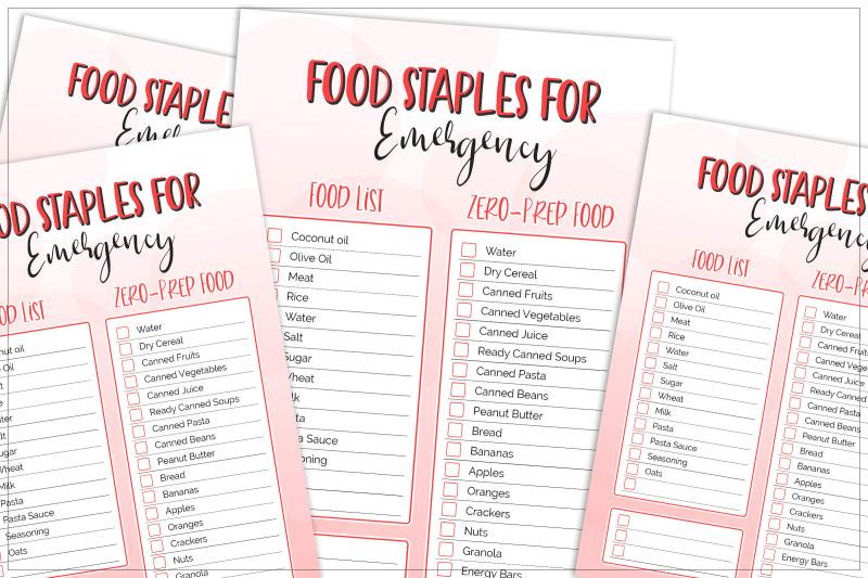 food-staples-for-emergency-printable