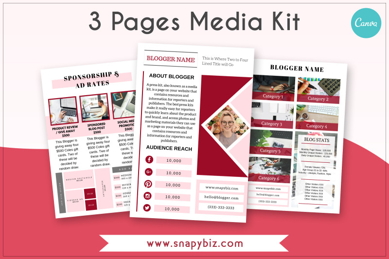 red-glow-media-kit-template