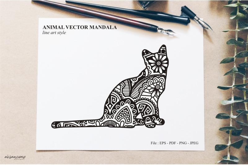 animal-vector-mandala-line-art-style