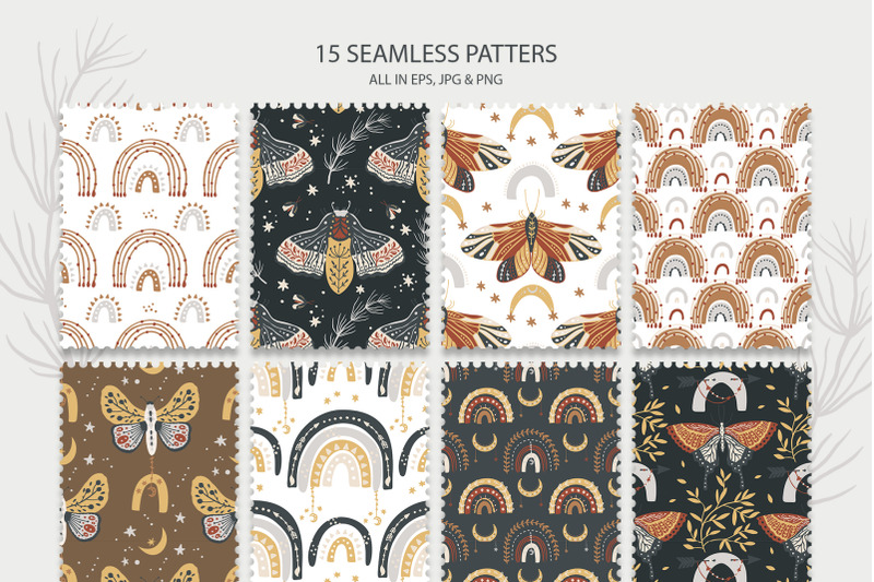 rainbow-amp-butterfly-boho-set-cliparts-amp-patterns