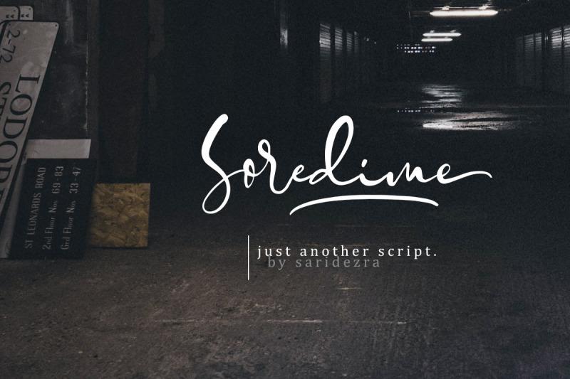soredime-signature-script