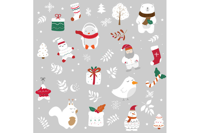 christmas-collection-with-cute-animals-snowman-penguin-squirrel-gi