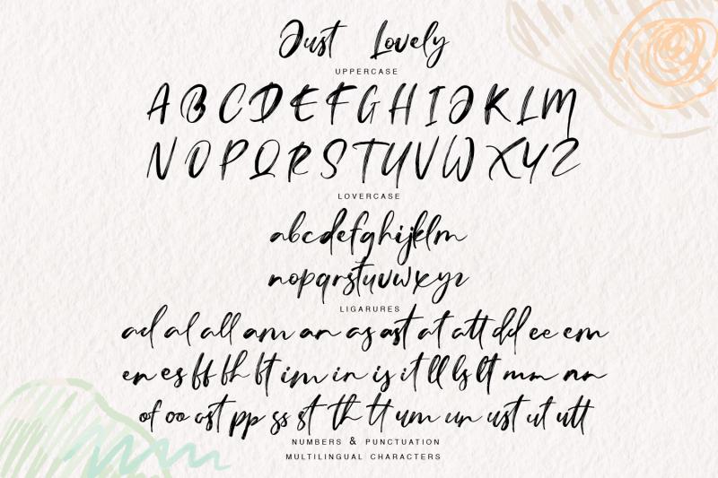 just-lovely-modern-font