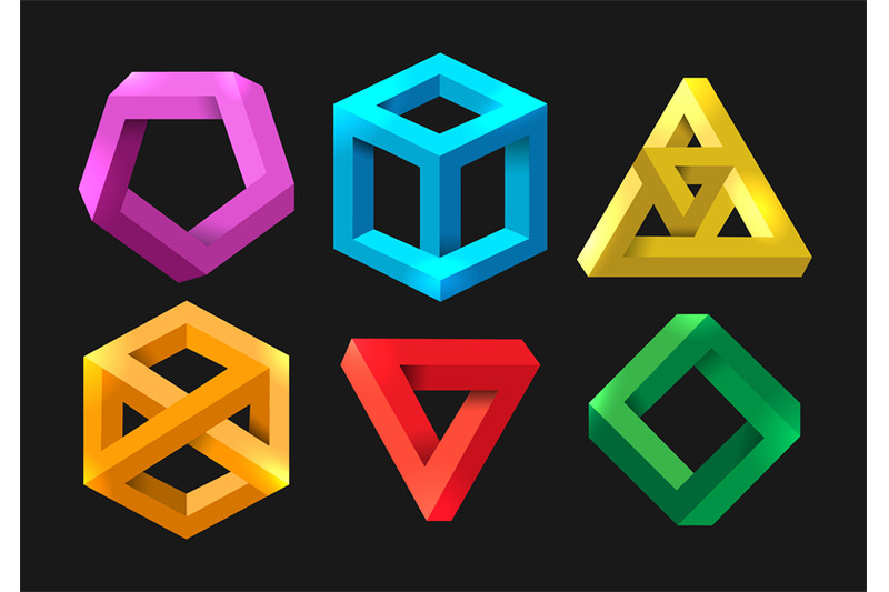 simple-3d-impossible-shapes