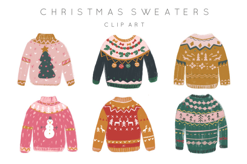 ugly-sweaters-hand-drawn-clipart
