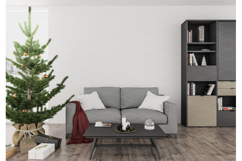Download Christmas_interior_mockup Free Mockups
