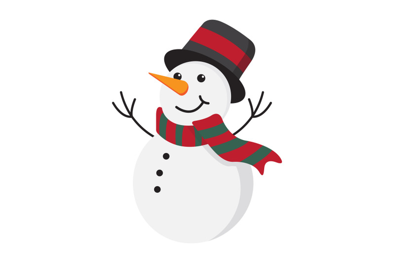 christmas-snowman-vector-illustration