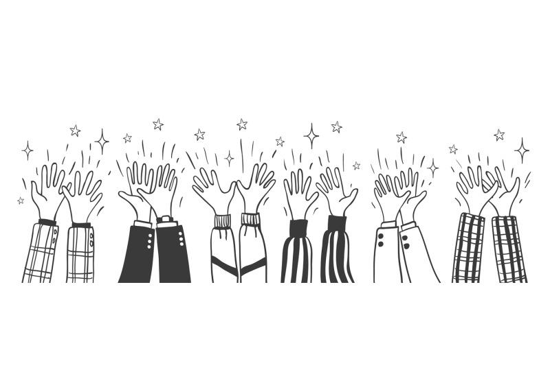 doodle-sketch-applause