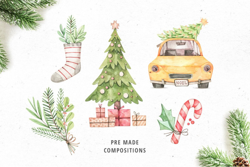 christmas-wishes-watercolor-noel