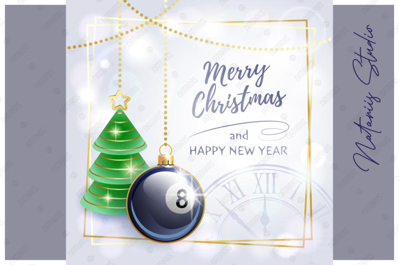 merry-christmas-happy-new-year-billiard
