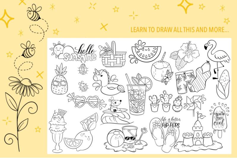 summer-doodles-booklet