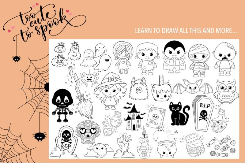 halloween-summer-doodles-bundle