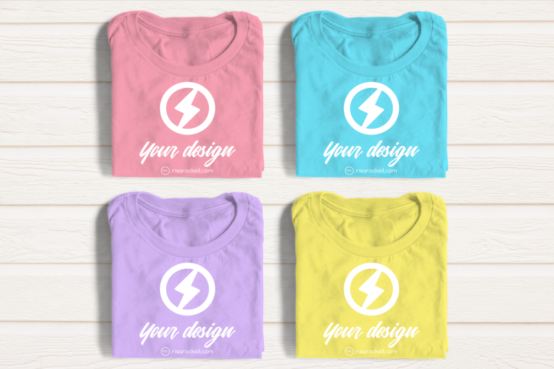 four-folded-tees-png-mock-up