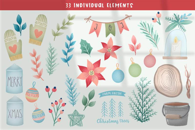 farmhouse-christmas-clipart