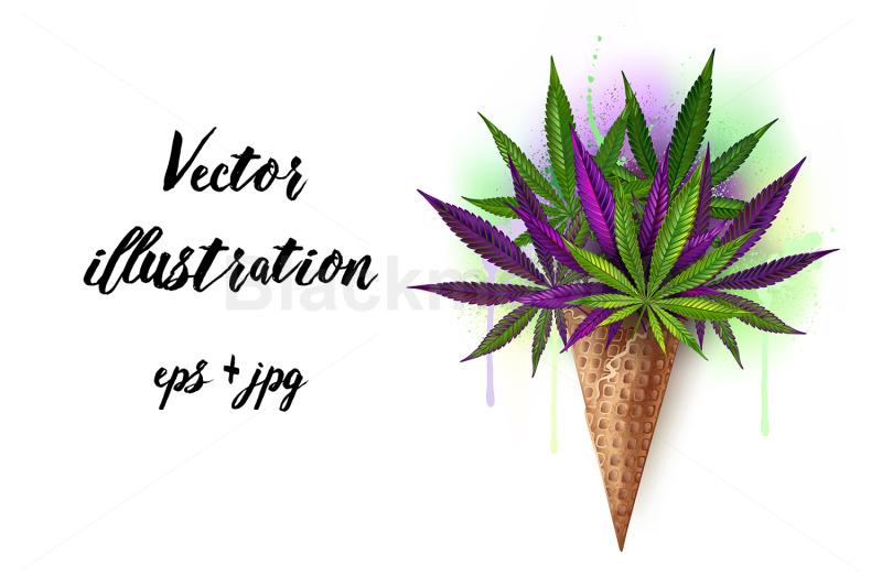 waffle-cone-with-purple-hemp