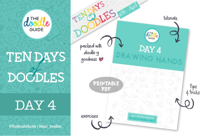 ten-days-of-doodles-day-01-to-10-bundle-offer