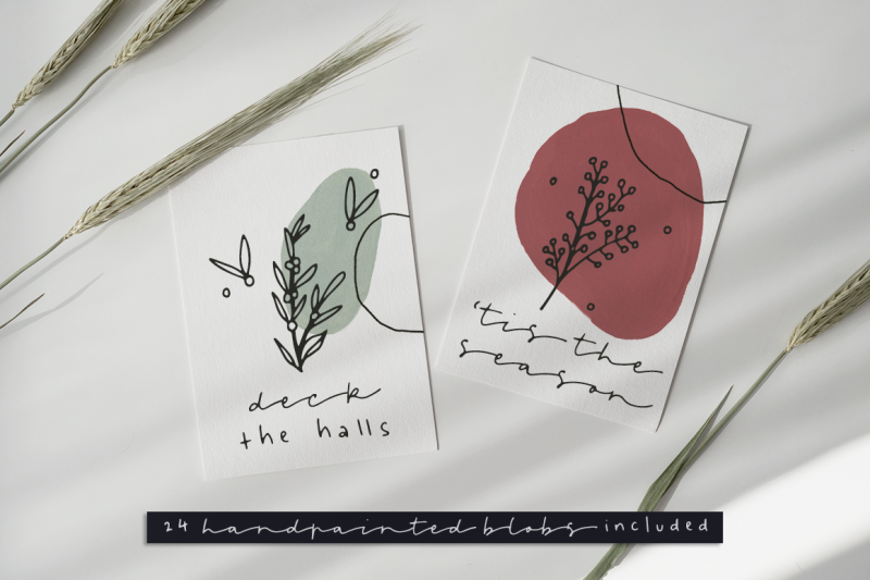 leaves-and-twigs-font-trio-extras