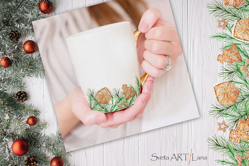 christmas-gingerbread-wreath-clipart