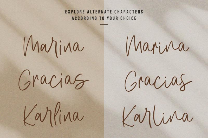 amirah-brillone-signature-font